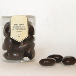 Amandes chocolat de Provence