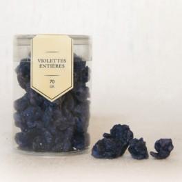 Violettes entières 70g