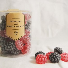 Bonbons Fruits de Bois cylindre 120g