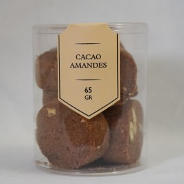Cacao-amandes - Cylindre 65g